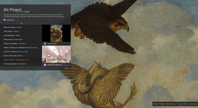 Google Art Project, recorrido por 17 museos del mundo.