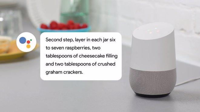 Google home ahora funciona como ayudante de cocina y for Ayudante de cocina funciones
