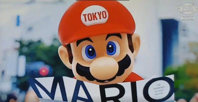 Mario Despide Los Juegos Olimpicos De Rio Como El Embajador Cultural