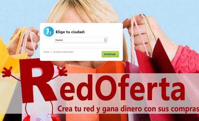 Página web RedOferta