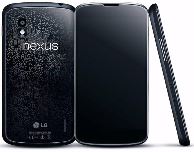 Smartphone de Google y LG Nexus 4