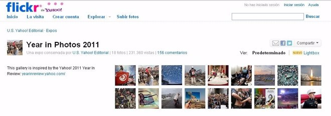 El Año En Fotos 2011 De Flickr