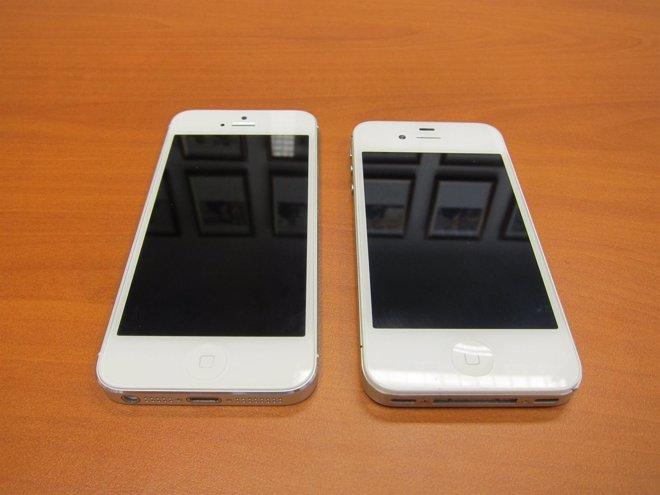 Probamos el iPhone 5 y lo ponemos iPhone 4S