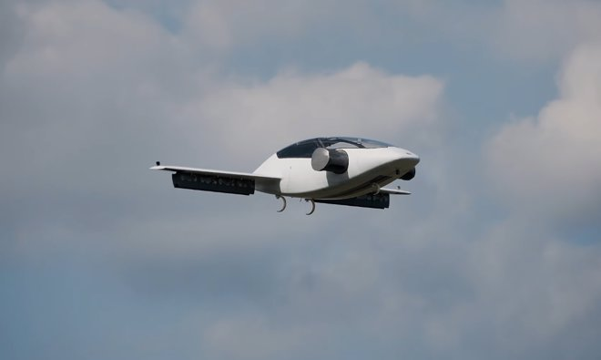 Prueban un prototipo de taxi aéreo eléctrico que despega en vertical