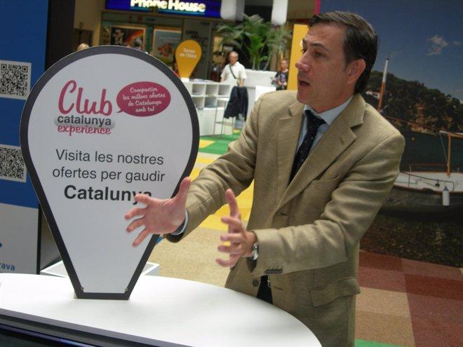 El director de la Agencia Catalana de Turismo, Xavier Espasa