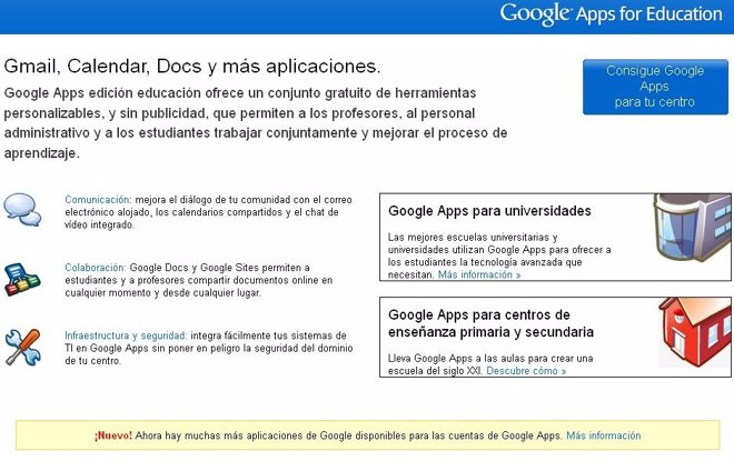 Google Apps For Education Desde Google