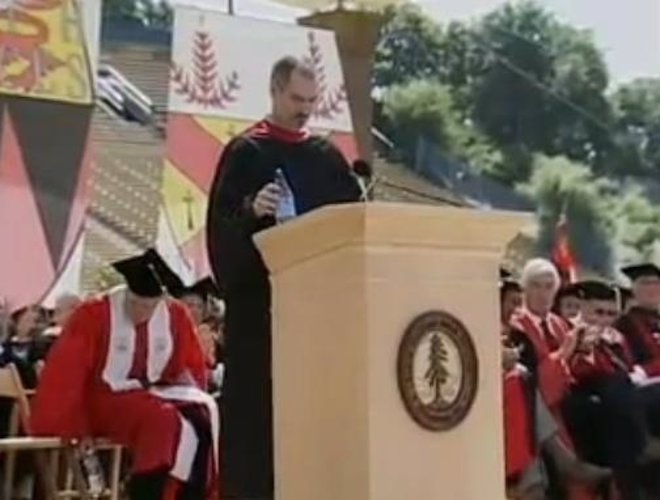 Discurso De Graduación De Steve Jobs Desde Youtube Peestandingup