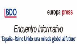 """Encuentro Informativo """"España - Reino Unido: una mirada global al futuro"""""""