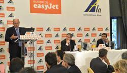 """Encuentro Easy Jet - """"El sector aéreo: antes y después de las tasas aeroportuarias"""""""