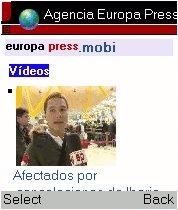 Vídeos de Actualidad en europapress.mobi